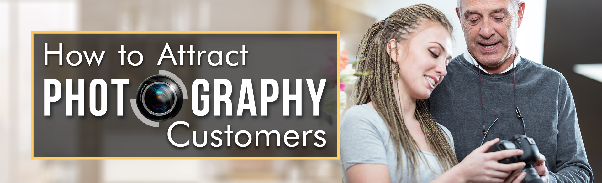 Photography Business Banner